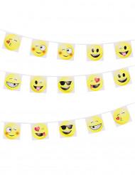 Ghirlanda con bandierine emoticons Imoji™
