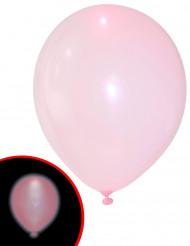 5 palloncini a LED rosa Illooms™