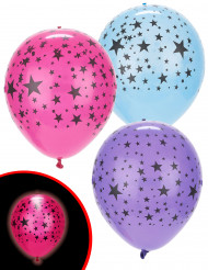 5 palloncini a LED con stelle Illooms™