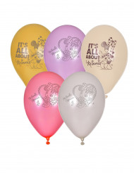5 palloncini di Minnie™ 23 cm