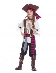 Travestimento da piratessa dei 7 mari per bambina