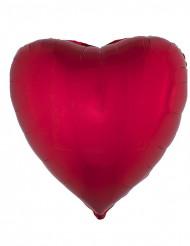Palloncino di alluminio cuore rosso 45 cm