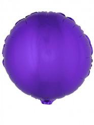 Palloncino di alluminio rotondo viola