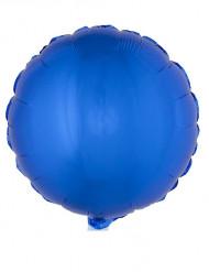 Palloncino di alluminio rotondo blu