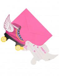 6 inviti di compleanno con buste Soy Luna™