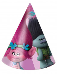 6 cappellini da festa Trolls™
