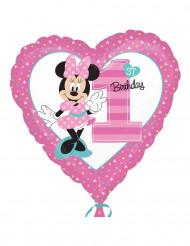 Palloncino in alluminio 1° compleanno di Minnie™