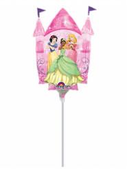 Mini palloncino in alluminio castello Principesse Disney™