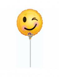 Palloncino alluminio Emoji occhietto