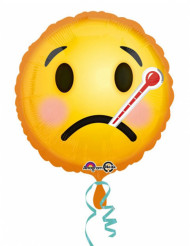 Palloncino alluminio Emoji raffreddato