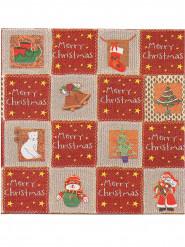 12 tovaglioli di carta Premium Merry Christmas