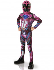 Costume Power Rangers™ rosa - il film per bambina