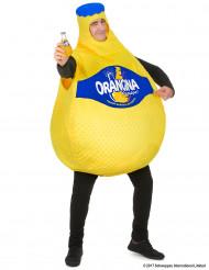 Costume bottiglia Orangina™ per adulto