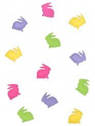 20 coriandoli in feltro conigli colorati