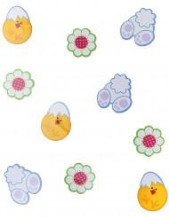 24 decorazioni in cartone di Pasqua