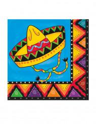 20 tovaglioli di carta Messico