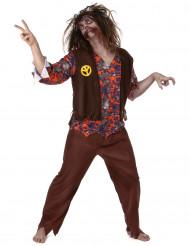 Costume da zombie hippie per uomo