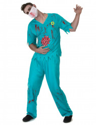 Costume medico zombie per adulto