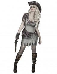 Costume piratessa fantasma da donna