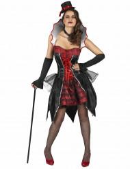 Costume corto da contessa per Halloween
