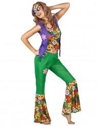 Costume hippie floreale da donna