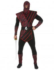 Travestimento da ninja dell'ombra per uomo