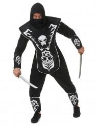 Costume ninja scheletro per adulto