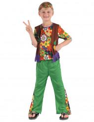 Costume hippie floreale per bambino