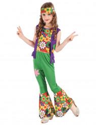 Costume hippie floreale per bambina