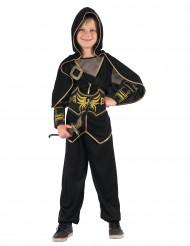 Costume da arciere nero per bambino