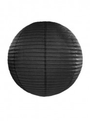 Lanterna giapponese nera 35 cm
