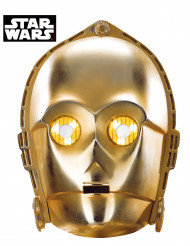 Maschera in cartone C3-PO Star Wars™
