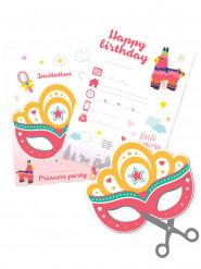 6 inviti di compleanno a tema principessa