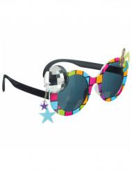 Occhiali disco multicolor per adulto