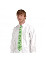 Cravatta con trifogli di San Patrizio