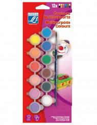 Palette pittura acrilica con 12 colori Lefranc & Bourgeois®