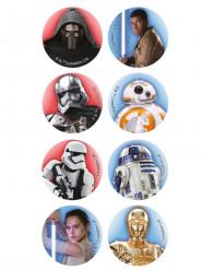 16 mini dischi in zucchero Star Wars™