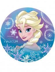 Disco di ostia con Elsa di Frozen™ 20 cm