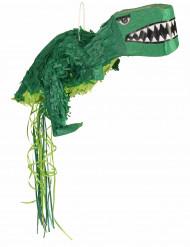 Pignatta a forma di dinosauro verde