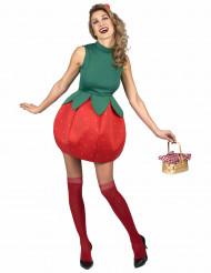 Costume da fragola donna