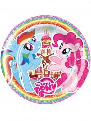 8 piatti di cartone My little pony™ 23 cm