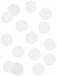 Coriandoli di carta bianchi ignifughi