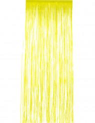 Tenda scintillante gialla