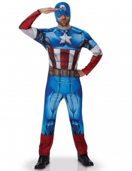 Costume Captain America™ deluxe adulto
