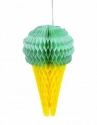 Decorazione alveolata gelato color menta