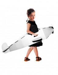 Aereo personalizzabile in cartone riciclato per bambino
