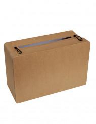 Urna a forma di valigia kraft