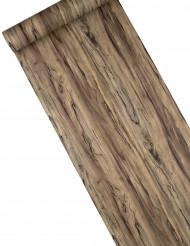 Runner da tavola effetto legno