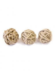6 piccole sfere con corda