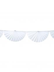 Ghirlanda di ventagli bianchi